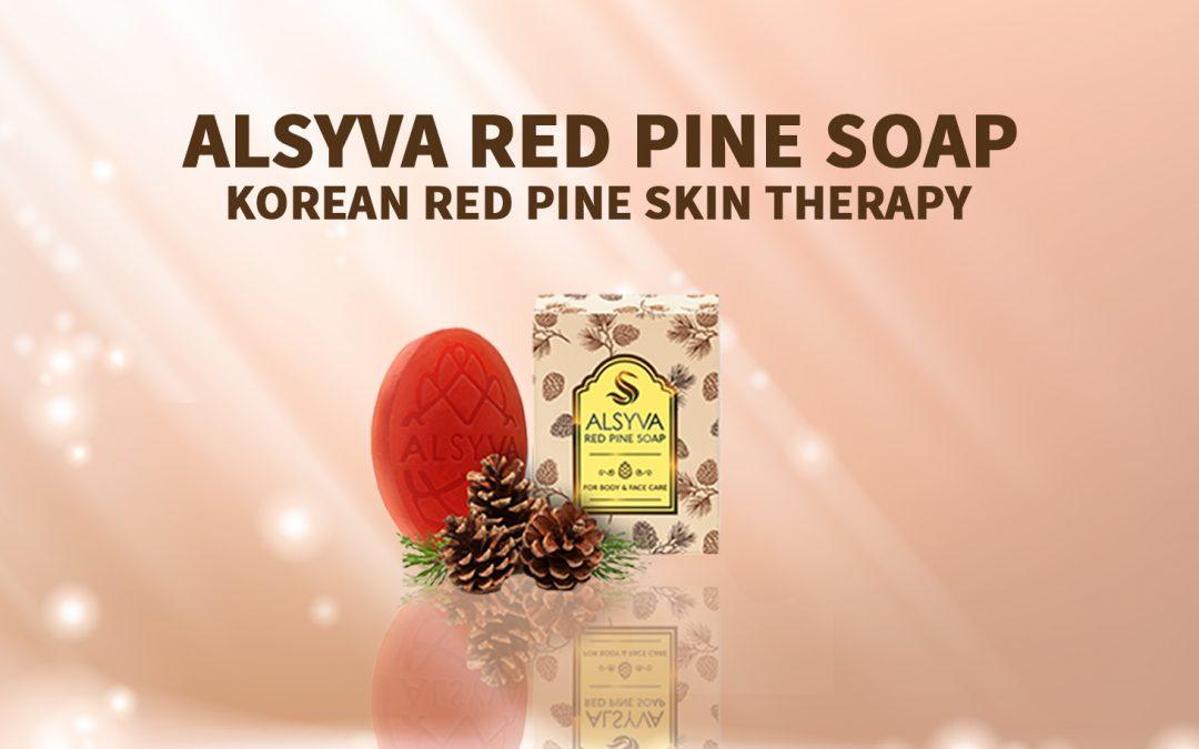 Alsyva Red Pine Soap sebagai Sabun Anti Virus dan Bakteri